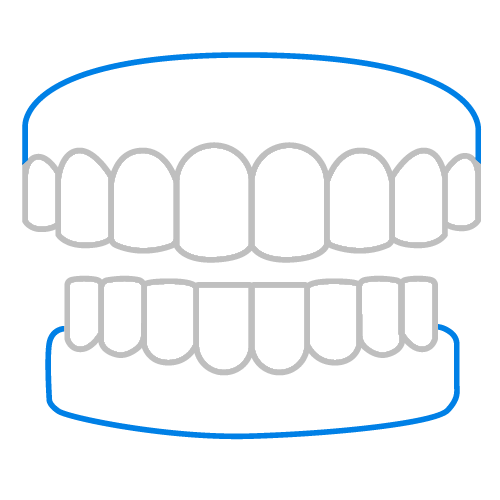 Immediate, partial and denture repairs at Major Dental Clinics all services
